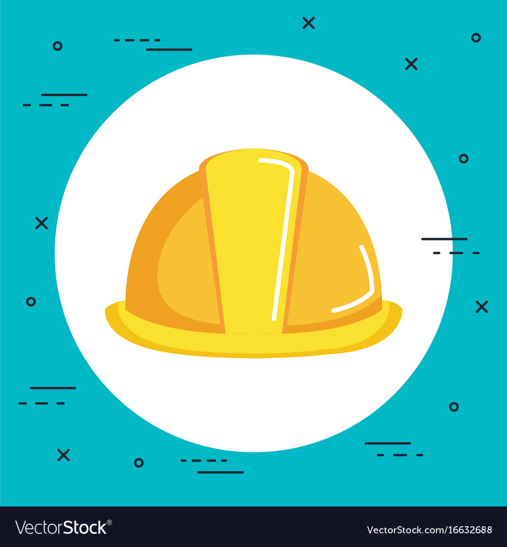free stock Construction hat icon free. Vector constructors helmet