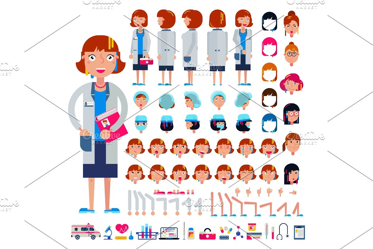png free stock Doctor constructor construction of. Vector constructors illustration
