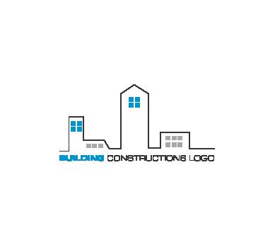 clip transparent Vector constructors logo.  modern construction images