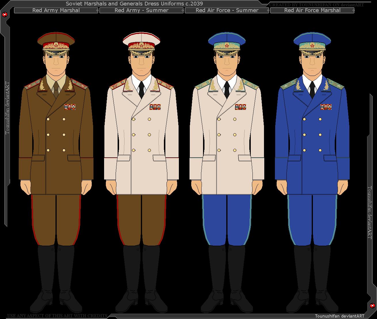 png royalty free download Vector constructors uniform. Panterria soviet general and
