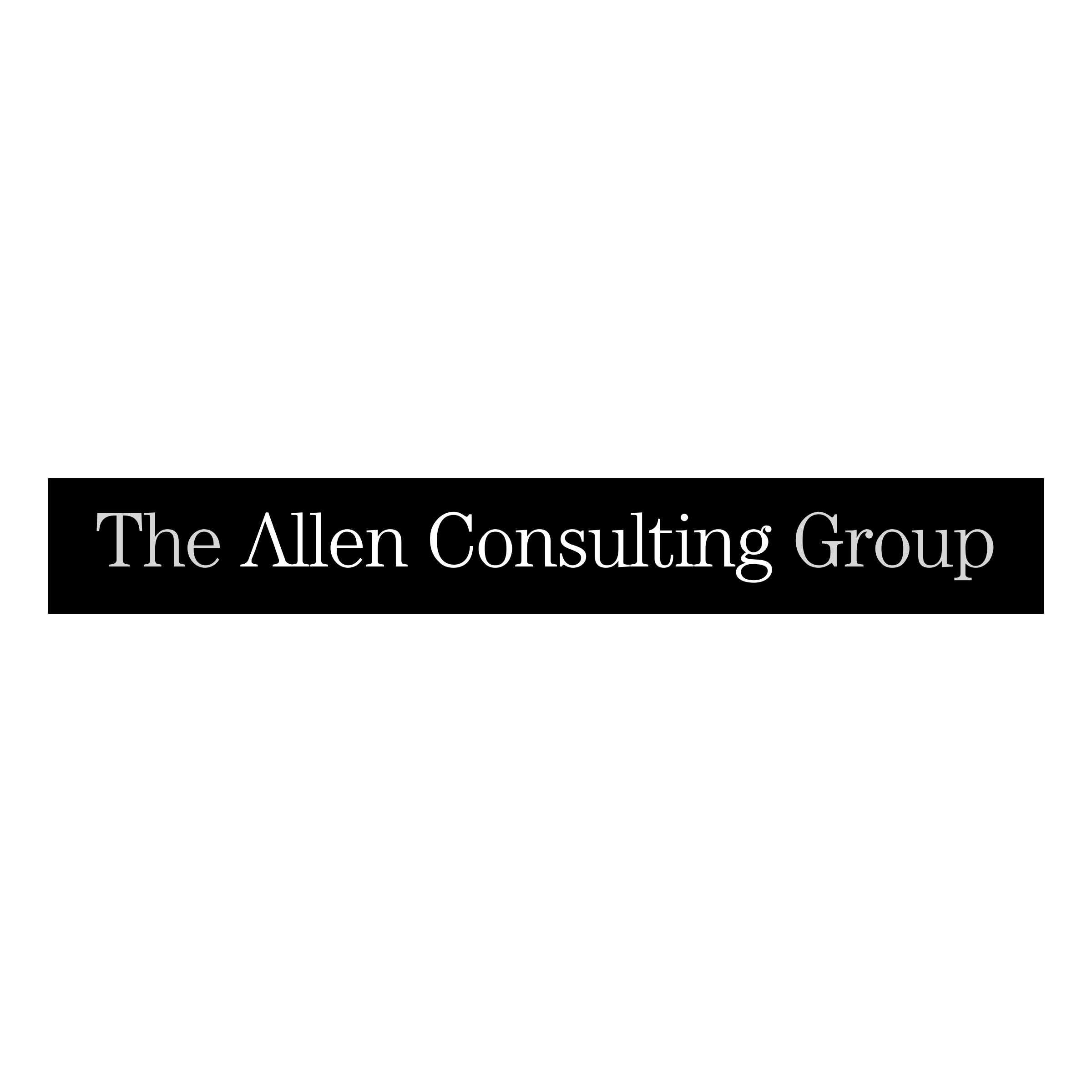 clip The allen logo png. Vector consulting group