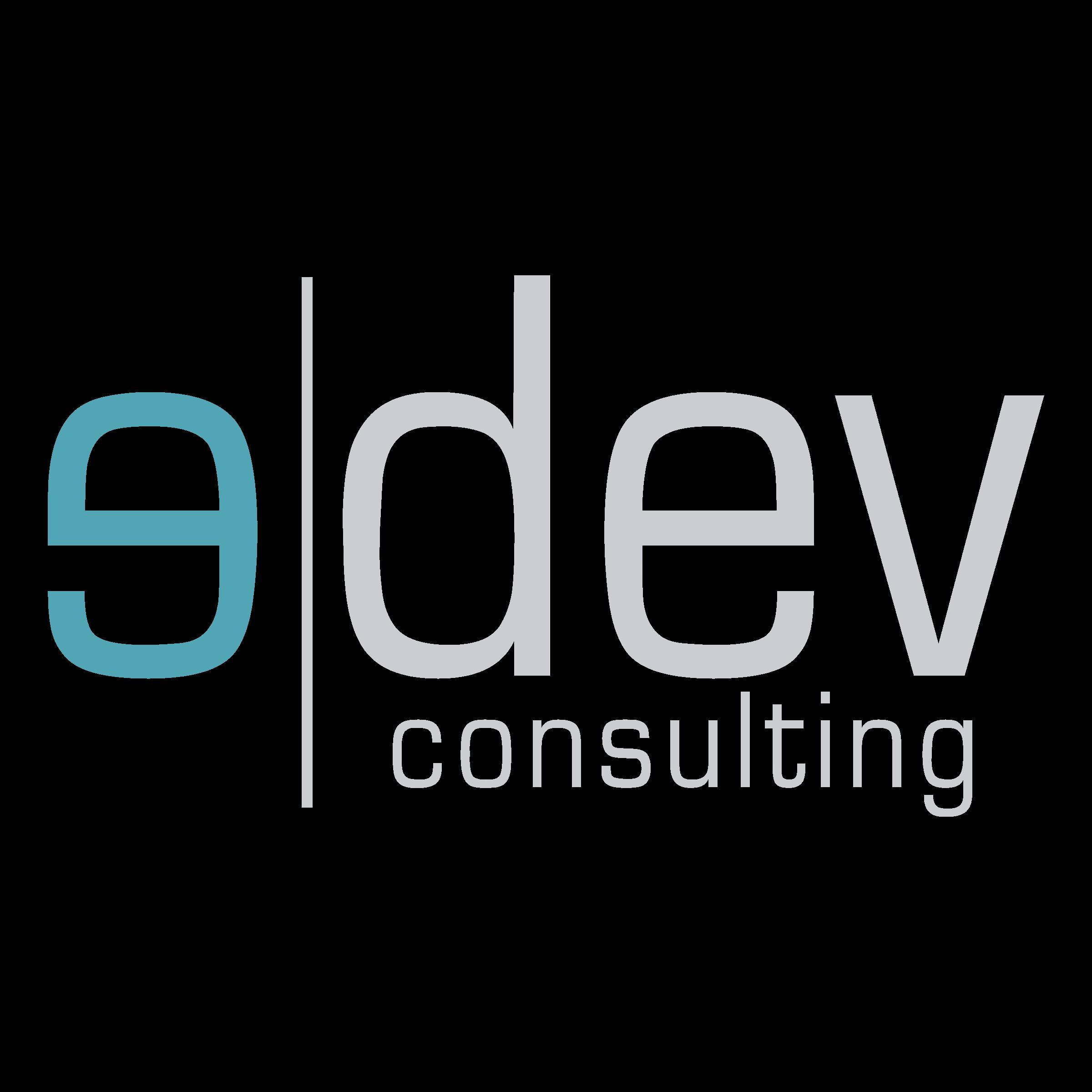 image freeuse Edev png transparent svg. Vector consulting logo