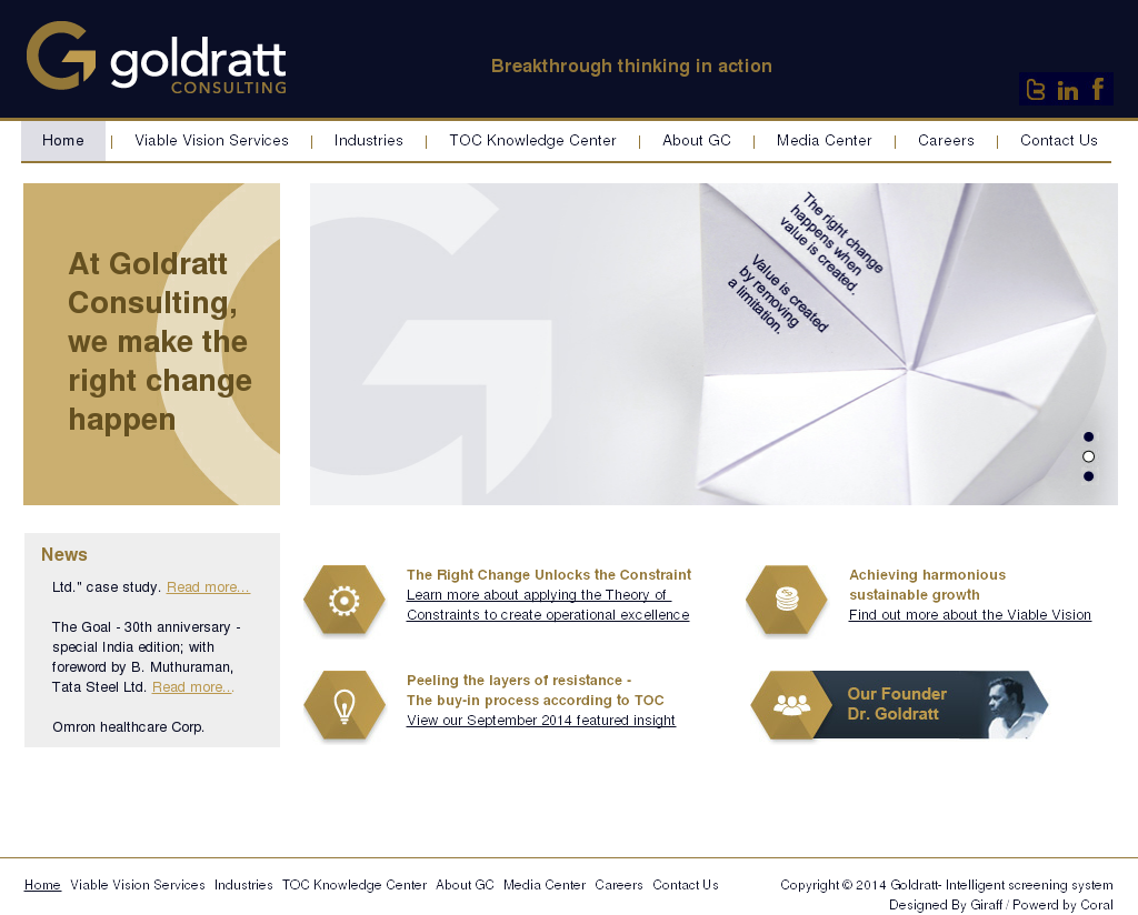 picture library download Goldratt competitors revenue and. Vector consulting toc