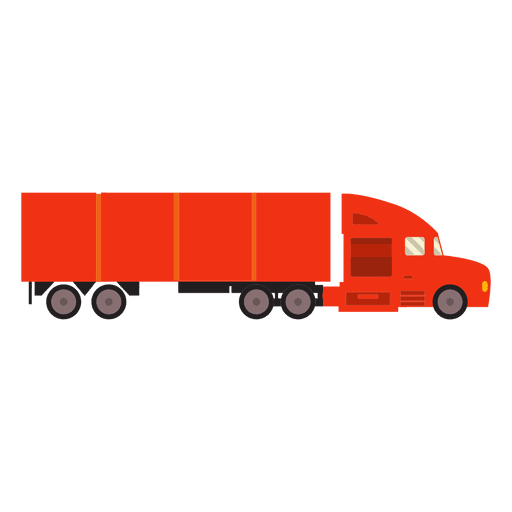 picture freeuse library Vector container cargo. Truck logistics transparent png