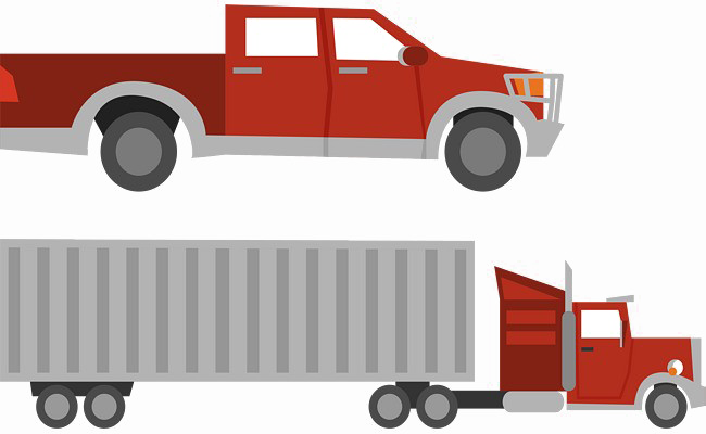 image black and white library Vector container truck. Png free download peoplepng