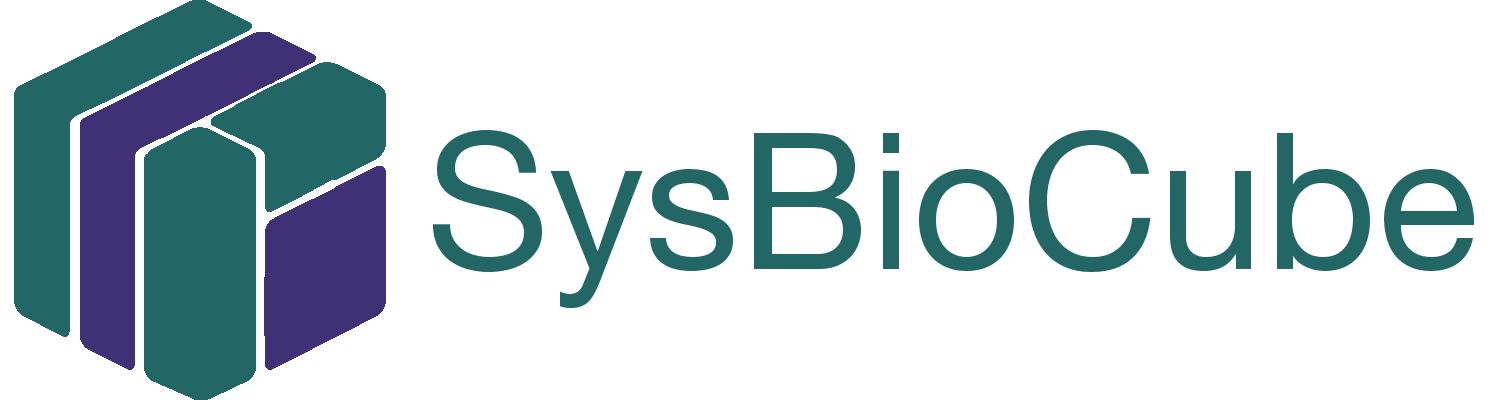 svg black and white Sysbiocube download . Vector contains probiotic logo