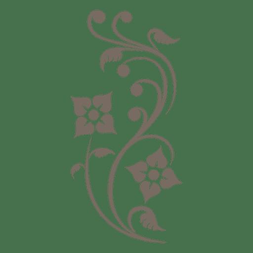 svg free download Vector ornament. Floral corner transparent png