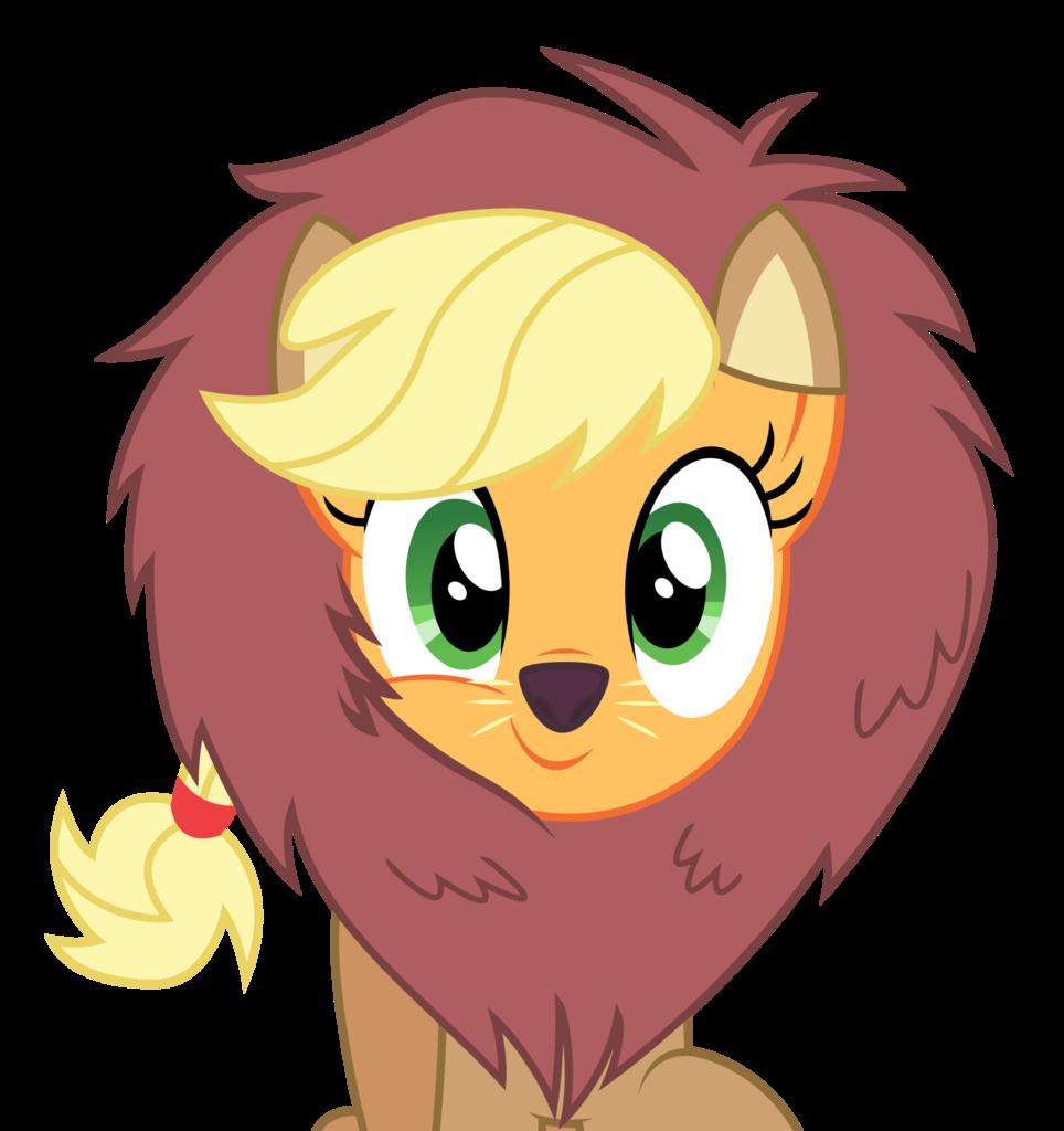 svg royalty free stock  applejack applelion artist. Vector costume cute