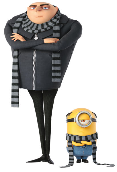 vector download Gru transparent png clip. Vector costume despicable me
