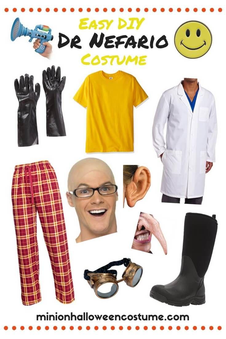 banner freeuse library Vector costume doctor nefario. An easy diy dr