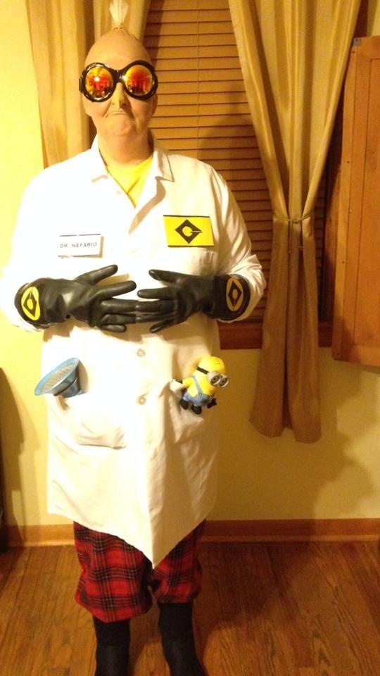 svg library download Despicable me dr d. Vector costume doctor nefario