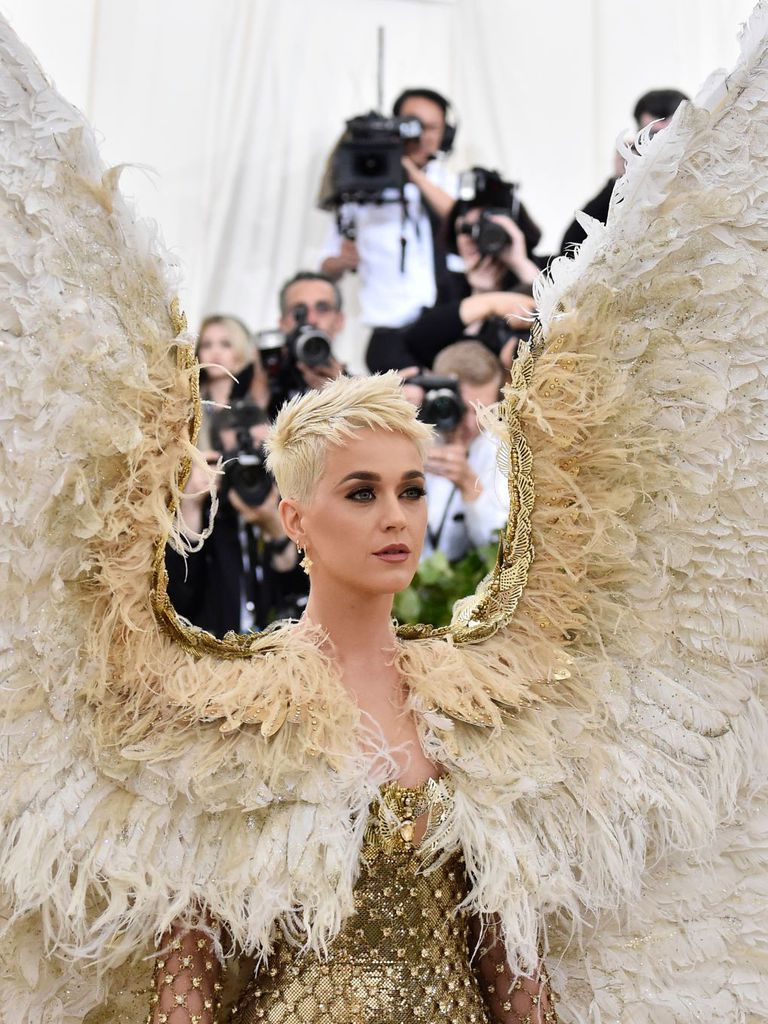 image royalty free library Katy perry met muse. Vector costume gala
