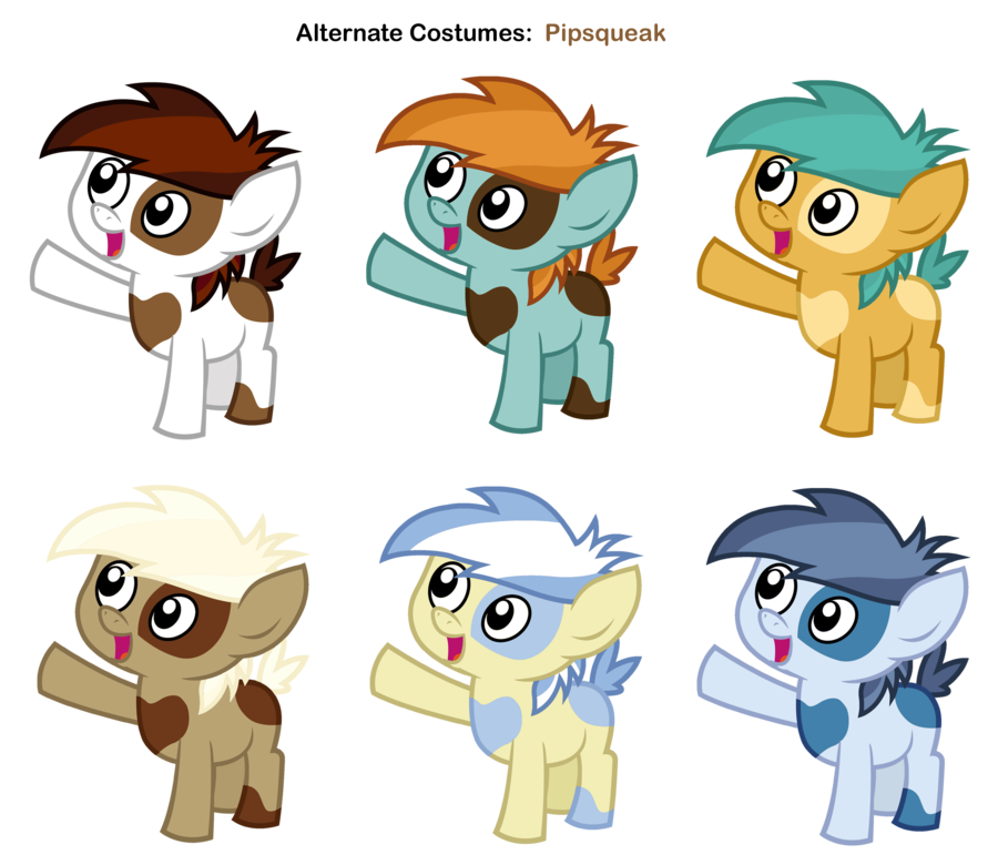 image freeuse Vector costume group. Fim skins pipsqueak by