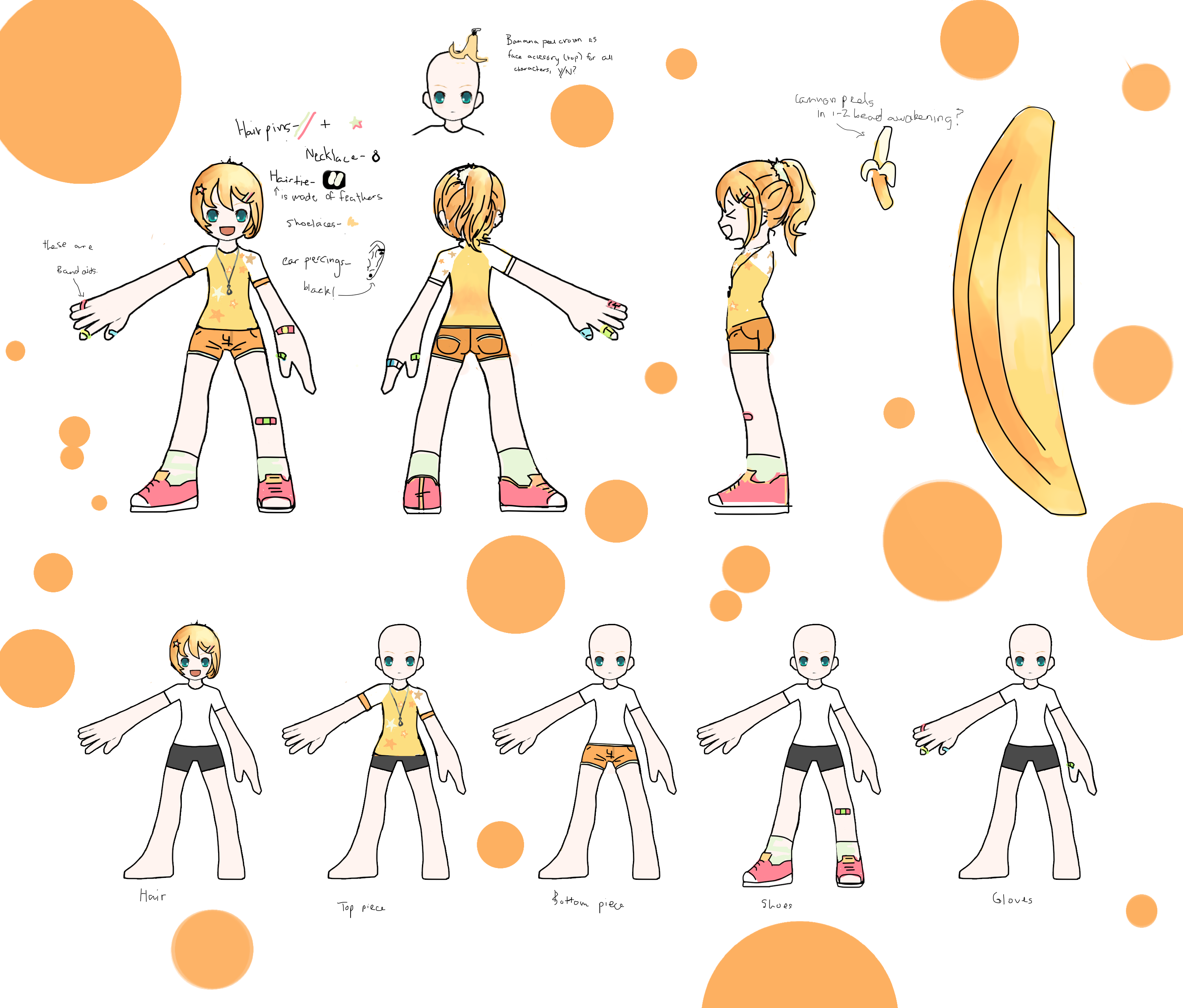 clip art free download Vector costume group. Elsword na contest entry