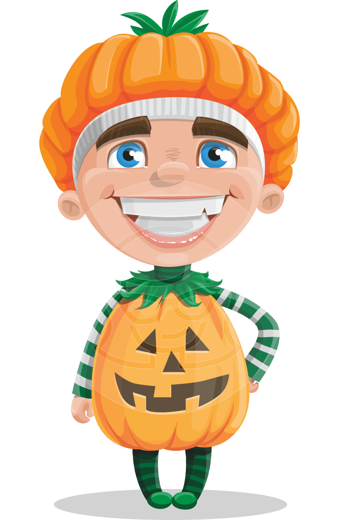 png transparent stock Vector costume kid. A cheerful boy cartoon