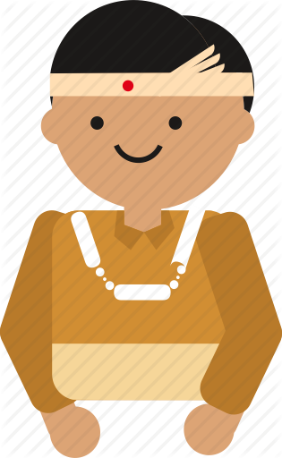clip freeuse library Vector costume person indonesian. People culture by moonday