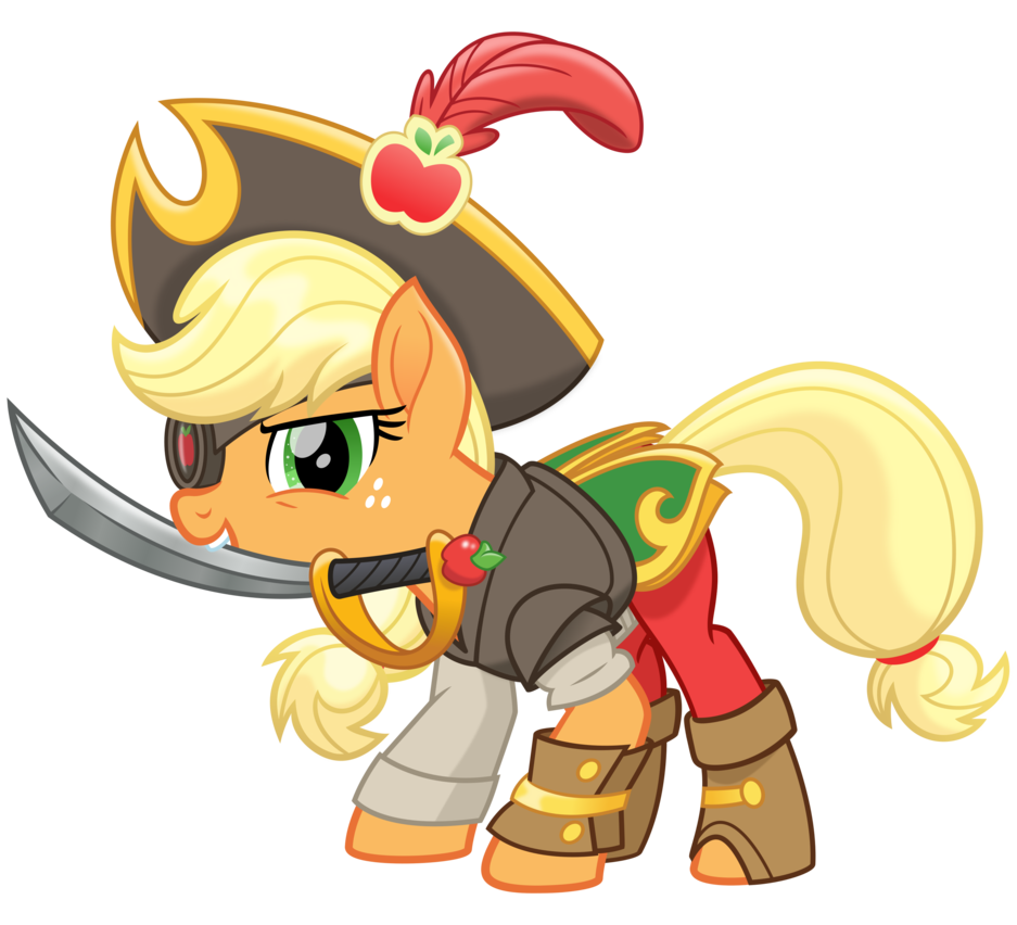 banner freeuse library Vector costume pirate. Mlp movie spoiler the