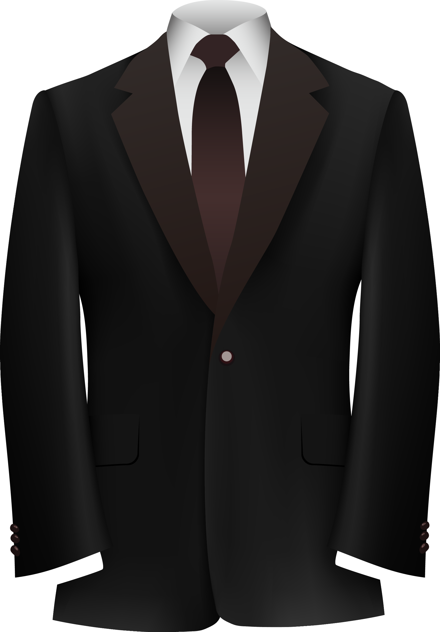 clip black and white stock Vector costume tuxedo dress. Suit clothing formal wear