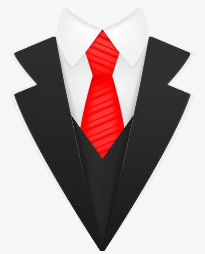 clipart transparent Vector costume tuxedo jacket. Creative black cloth man