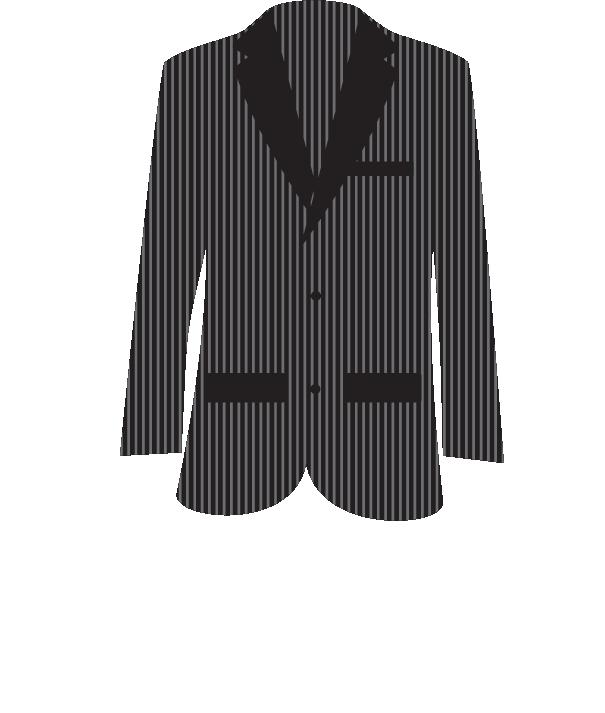 picture free Blazer robe suit cartoon. Vector costume tuxedo jacket