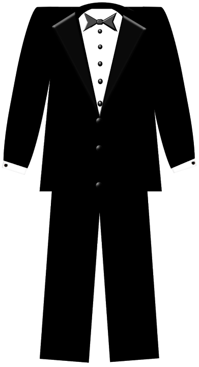 vector black and white Vector costume white tuxedo. Casamento pinterest carrie template