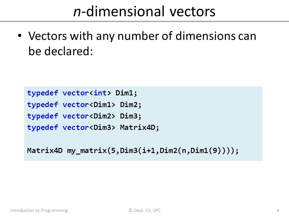 png black and white Introduction to programming in. Vector cplusplus multidimensional.