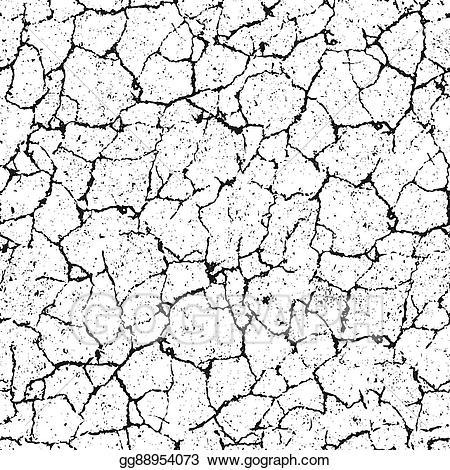 picture transparent Vector cracks concrete crack. Art distressed overlay texture