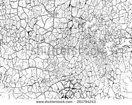 clip library download Vector cracks concrete crack. Grunge sketch effect texture