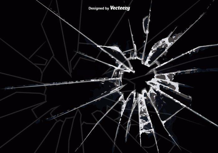 graphic transparent library Cracked glass background welovesolo. Vector cracks window crack