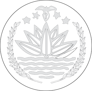 svg freeuse stock Bangladesh logo ai free. Vector crest