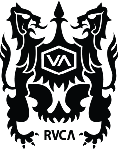 jpg transparent stock Rvca logo eps free. Vector crest
