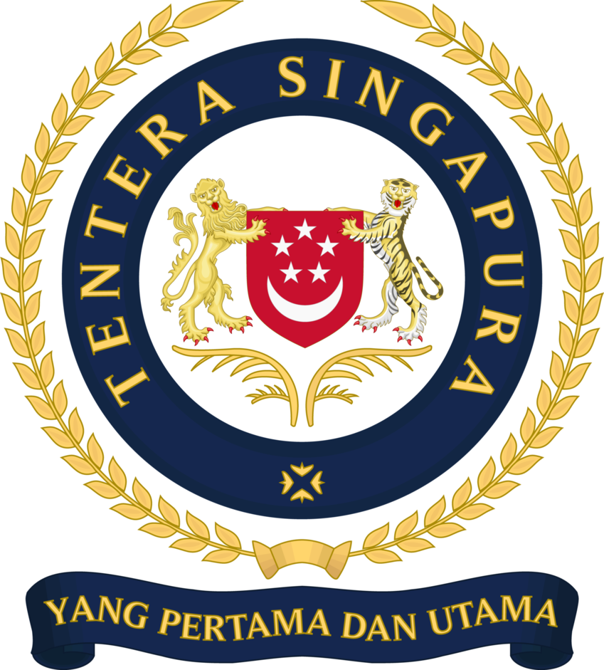 vector royalty free Singapore armed forces saf. Vector crest army