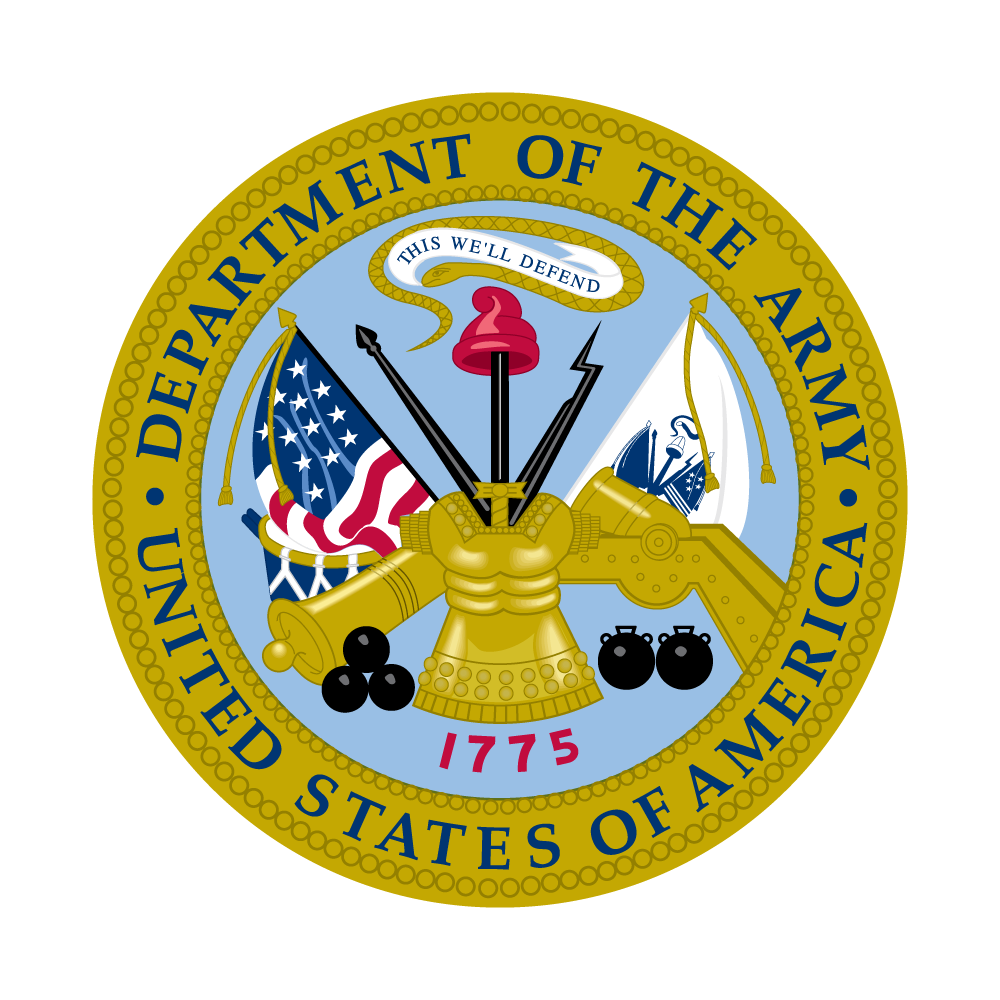 graphic library download Vector crest army. U s military service