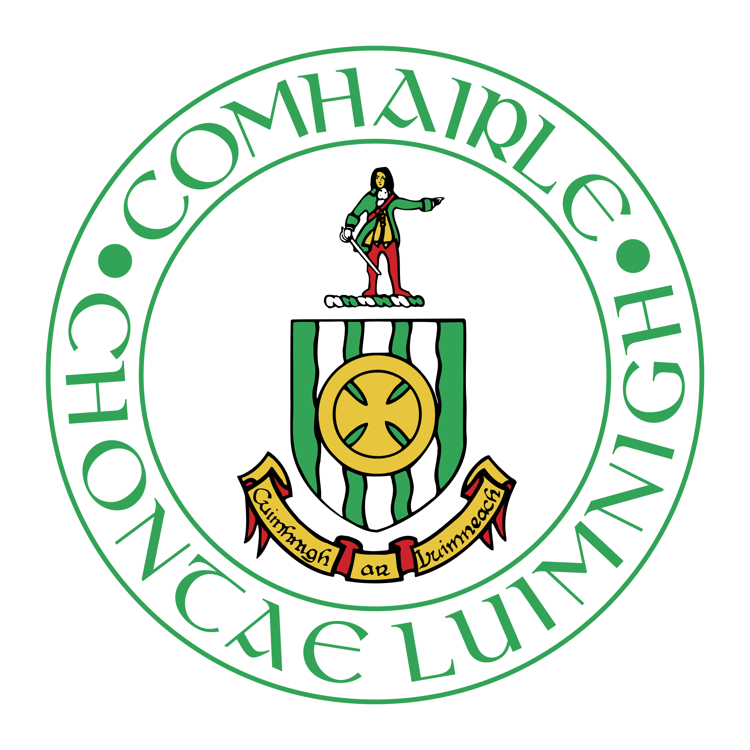 picture freeuse library Vector crest circle. Limerick county logo png