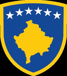 banner free library Kosovo logo ai free. Vector crest circle