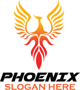 png freeuse stock Creative phoenix Logo Vector