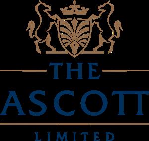 clip art black and white download The ascott limited logo. Vector crest designer