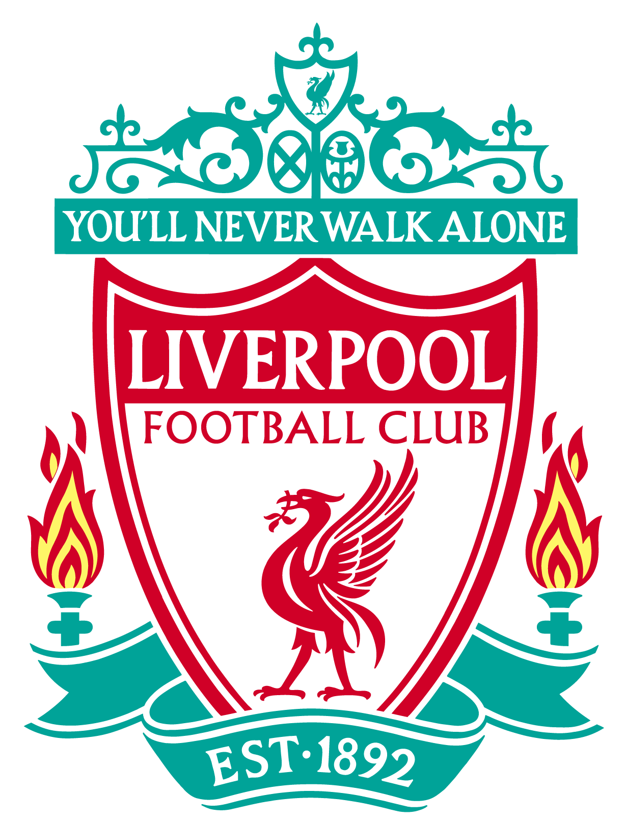 image black and white download Liverpool FC Logo Vector EPS Free Download