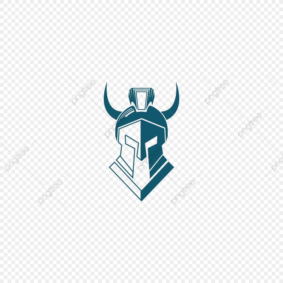 transparent Vector crest gladiator. Logo png barbell and