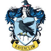 png stock Gothic Ravenclaw Crest by SebastianStore