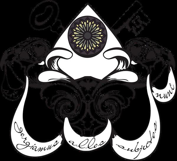 svg freeuse stock Custom family on behance. Vector crest gothic