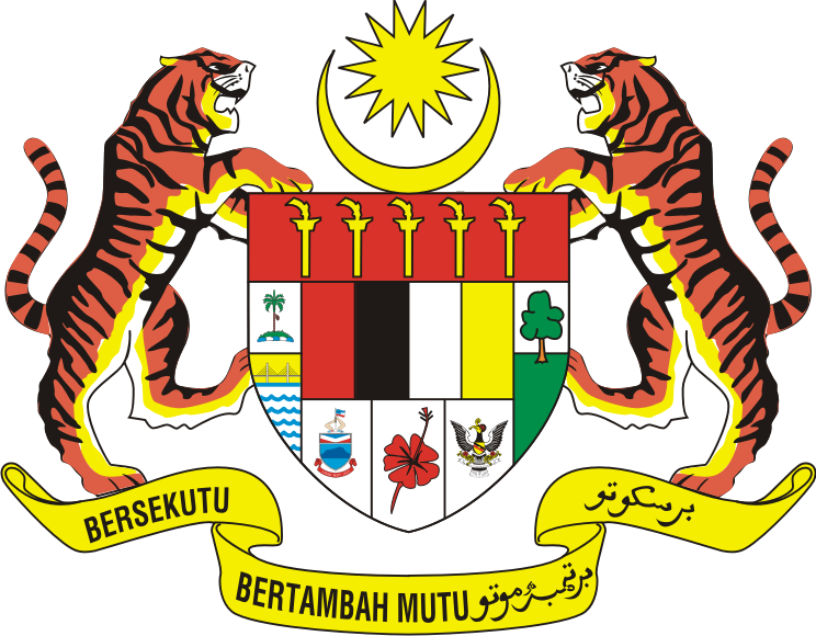 jpg freeuse stock Coat of arms of Malaysia Logo
