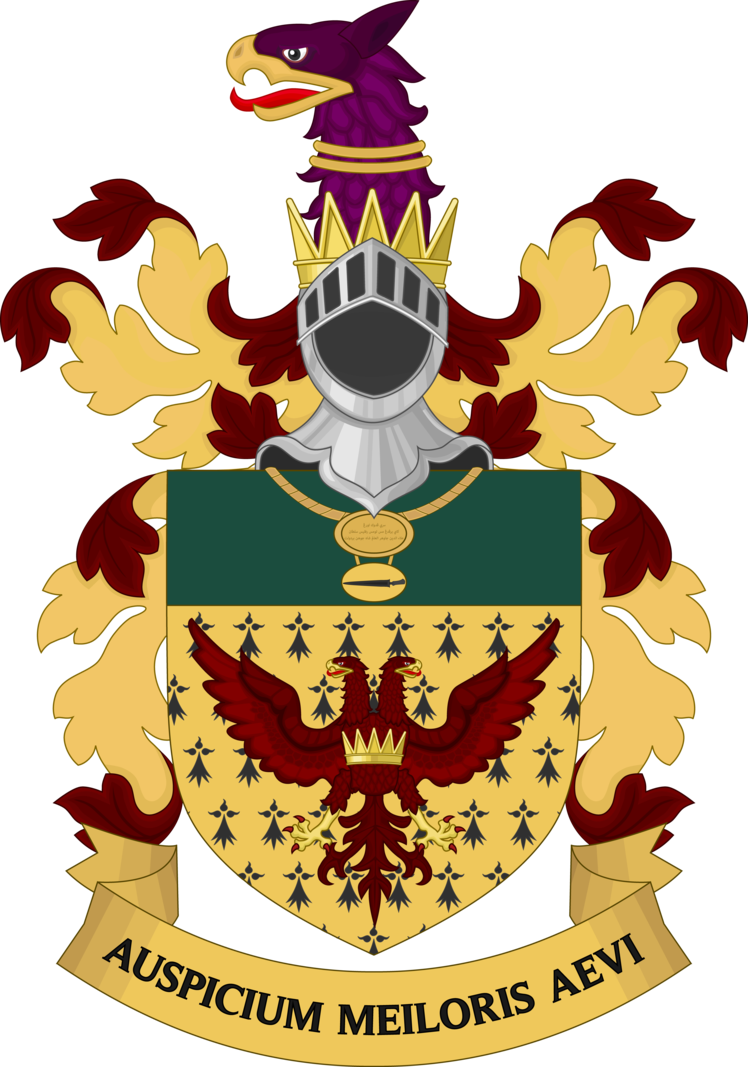 image freeuse Coat of arms sir. Vector crest heraldry