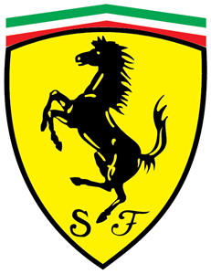 graphic library stock Vector crest illustrator. Ferrari logo vectors free