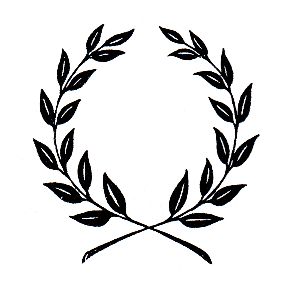 graphic library library Leaves png clip art. Vector crest leaf
