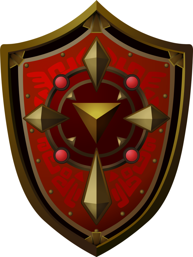jpg download Magical shield by doctor. Vector crest magic