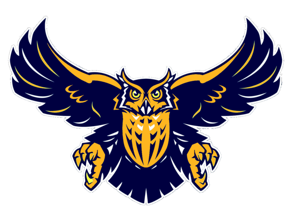 svg library download Vector crest owl. Navy blue free images