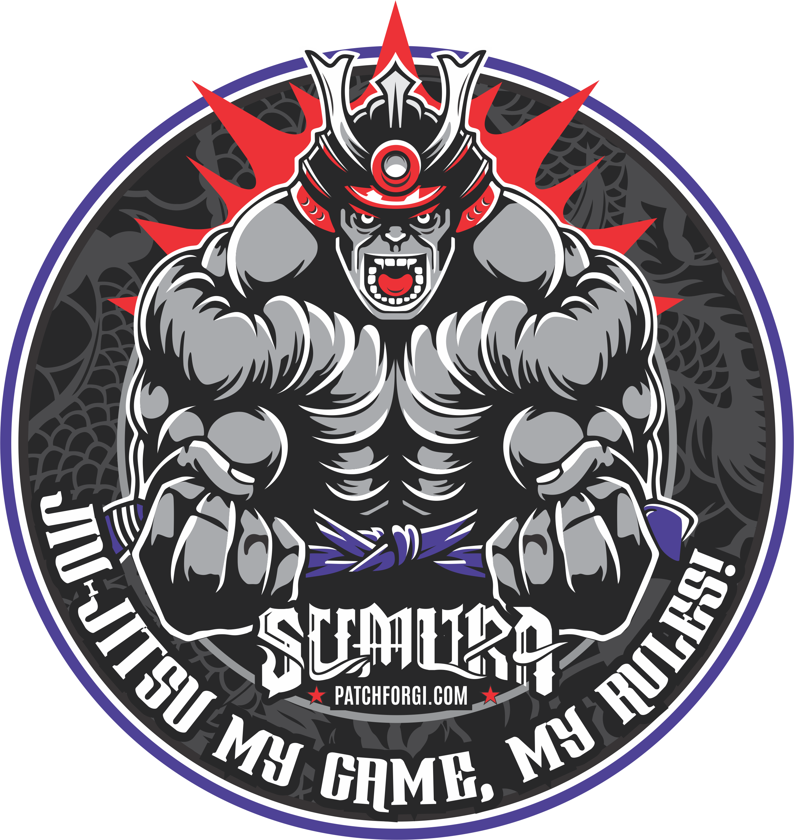 image library stock Vector crest samurai. We have new patches