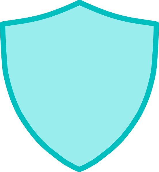 svg royalty free library New blue clip art. Vector crest shield