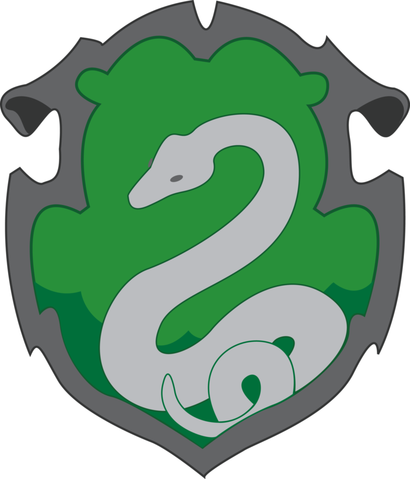 graphic freeuse library Slytherin by jendrawsit on. Vector crest simple